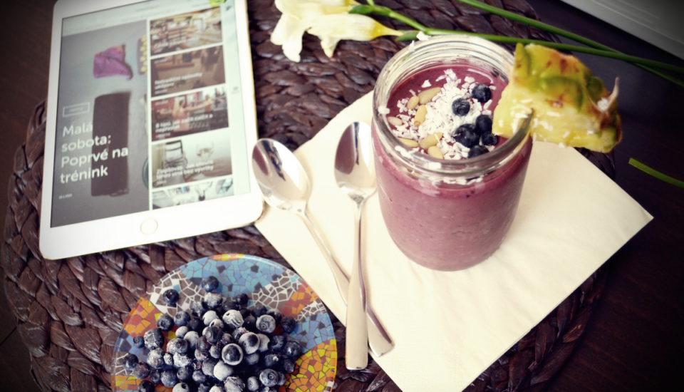 Začněte den sovocným smoothie