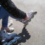 Jak jsme se učili na inline bruslích