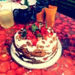 Glosa: Punkový ovocný dort