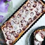 Lehký dezert od Kitchenette: Třešňový clafoutis