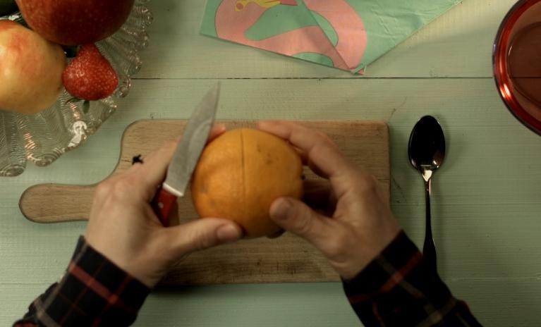 Zlepšovák: Příprava stále čerstvého pomeranče na cesty