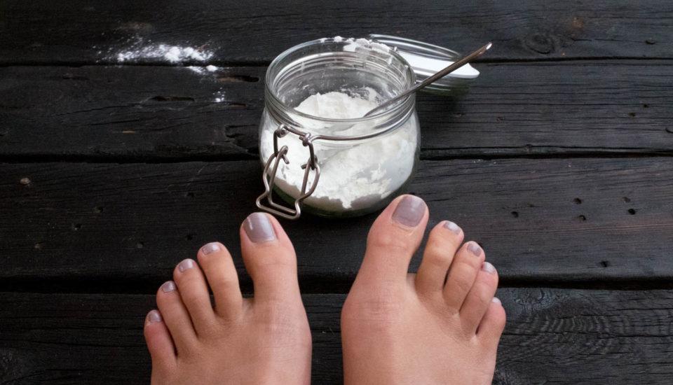 Přírodní osvěžovače nohou