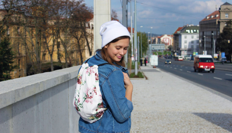 Vyrobte si doma jednoduchý ruksak