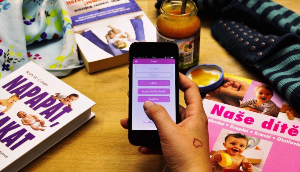 Chytré aplikace pro současné ibudoucí maminky