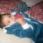 Jak udržet nemocné děti vposteli