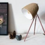 Designová lampa snadno arychle