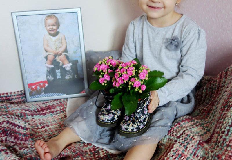 Domácí dekorace, která připomene růst dítěte