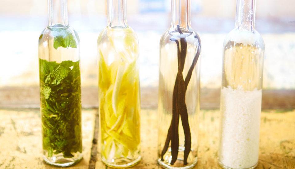 Domácí bylinné extrakty