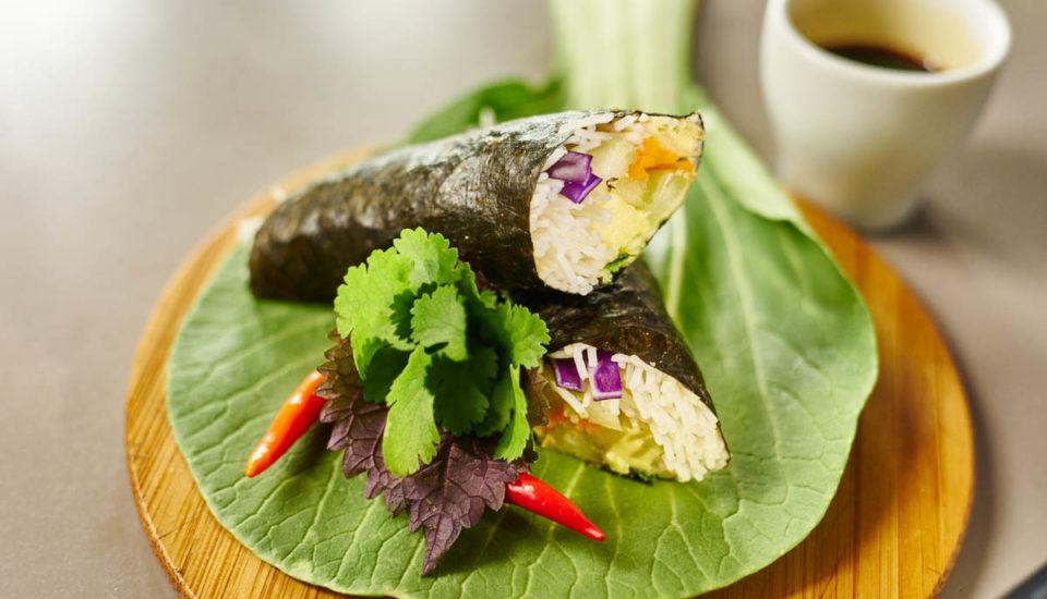 Jednoduché letní sushi rolky
