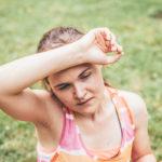 Jak cvičit vlétě aneusmažit se