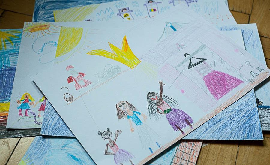 Děti kreslí vysněné prázdniny