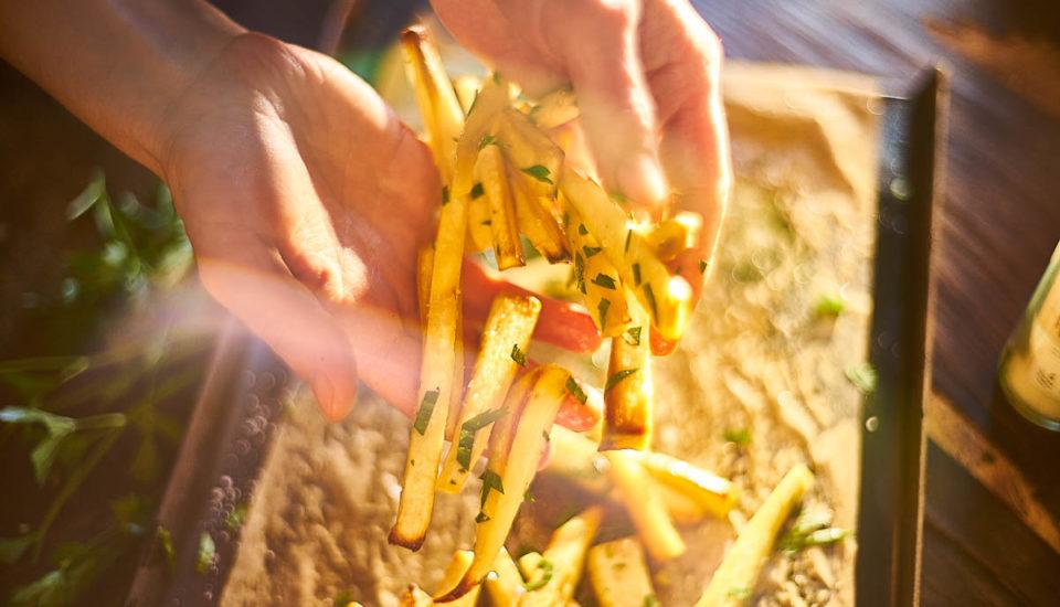 Pastinákové hranolky