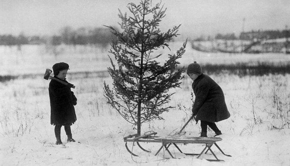 Podívejte se, jak se slavily Vánoce před 100 lety