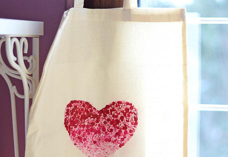 Valentýnská taška