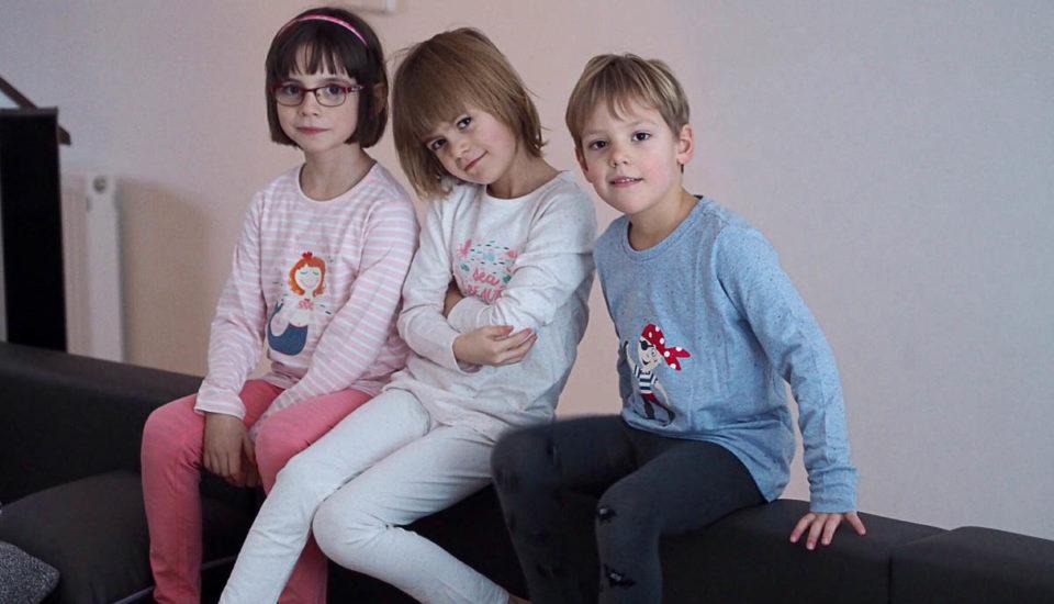 Oblečte idoma děti tak, aby nenastydly