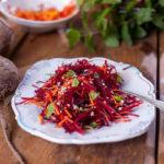 Salátek ze syrové řepy amrkve