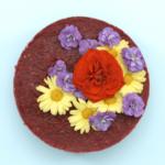 Hit sezóny: Květinový raw dort