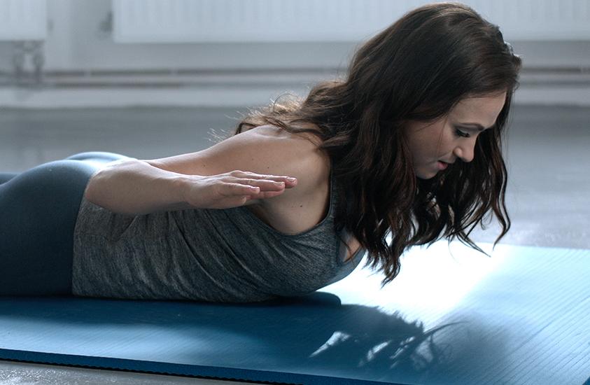 Rozcvička: Posilněte zádové svalstvo