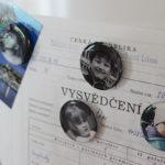 Magnetky na lednici zvlastních fotek