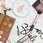 Expres romantický make-up look