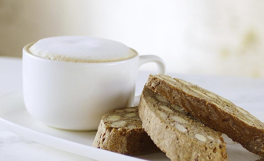Oslava kávy: Svačinka skávovými biscotti