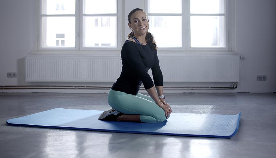 Rozcvička: Posilněte střed těla