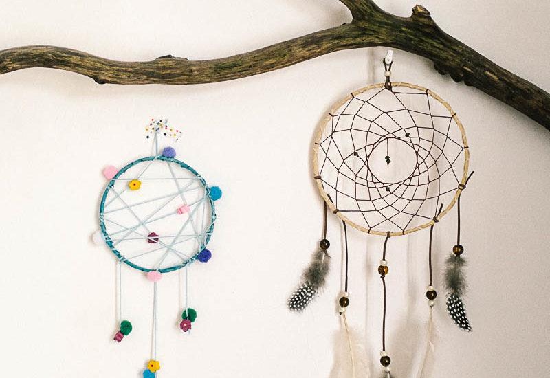 Vyrobte sobě idětem indiánský lapač snů