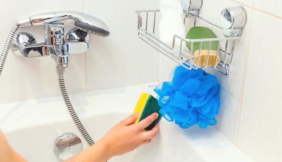 Líný trik pro dokonale čistou koupelnu každičký den