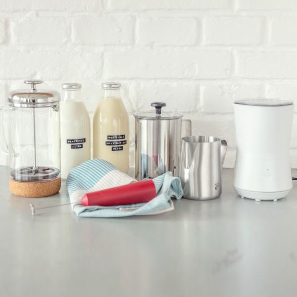 Vše, co potřebujete pro šlehání mléka
