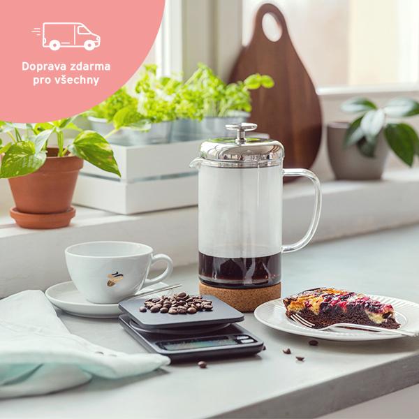 Vše, co potřebujete pro kávu zfrench pressu