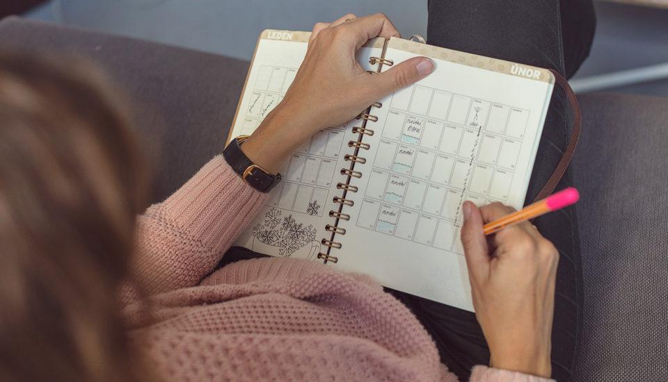 4 kreativní způsoby, jak diář využít naplno