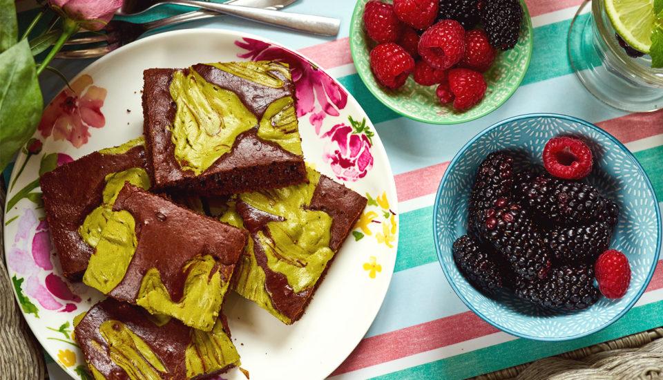 Hříšně dobré matcha brownies