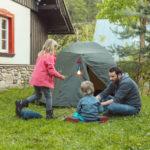 Letní dobrodružství pro děti: přespávačka a3 malé hry ktomu
