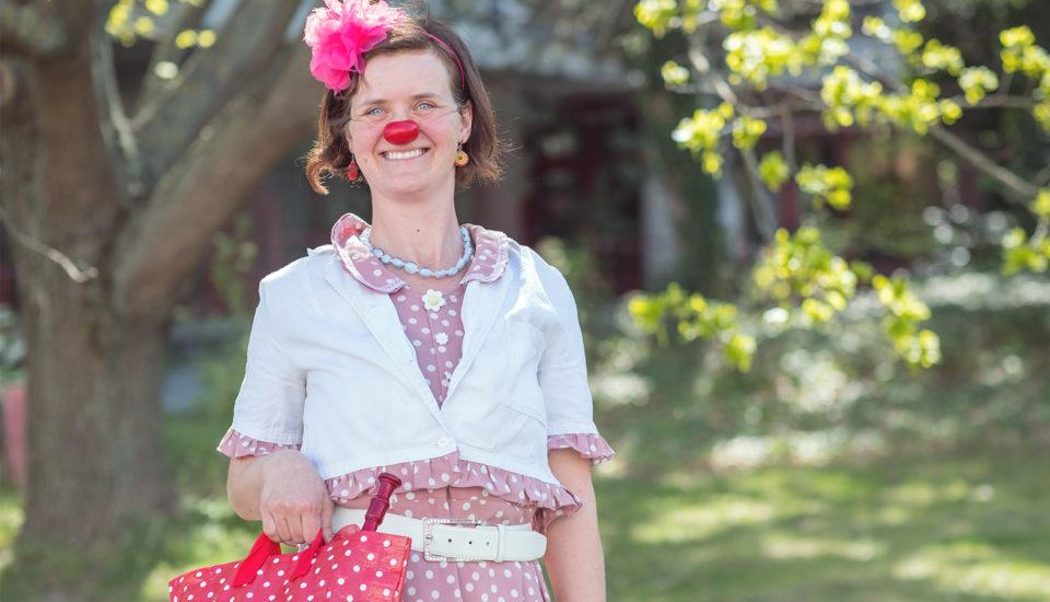 Zdravotní klaunka: Dítě se chce smát, ikdyž je hodně nemocné