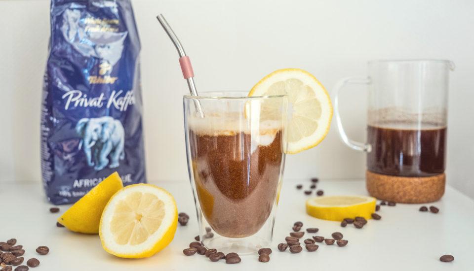 Osvěžující experiment skávou: citronové cold brew