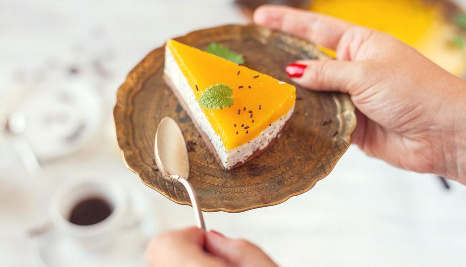 Svěží letní cheesecake smangem