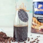 Domácí kávový sirup na zdobení