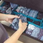 Jak ušetřit místo ve skříni správným skládáním spodního prádla