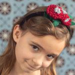 Tip nejenom pod stromeček: kvítí do vlasů