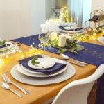 5 detailů, které dohromady vykouzlí slavnostní stůl