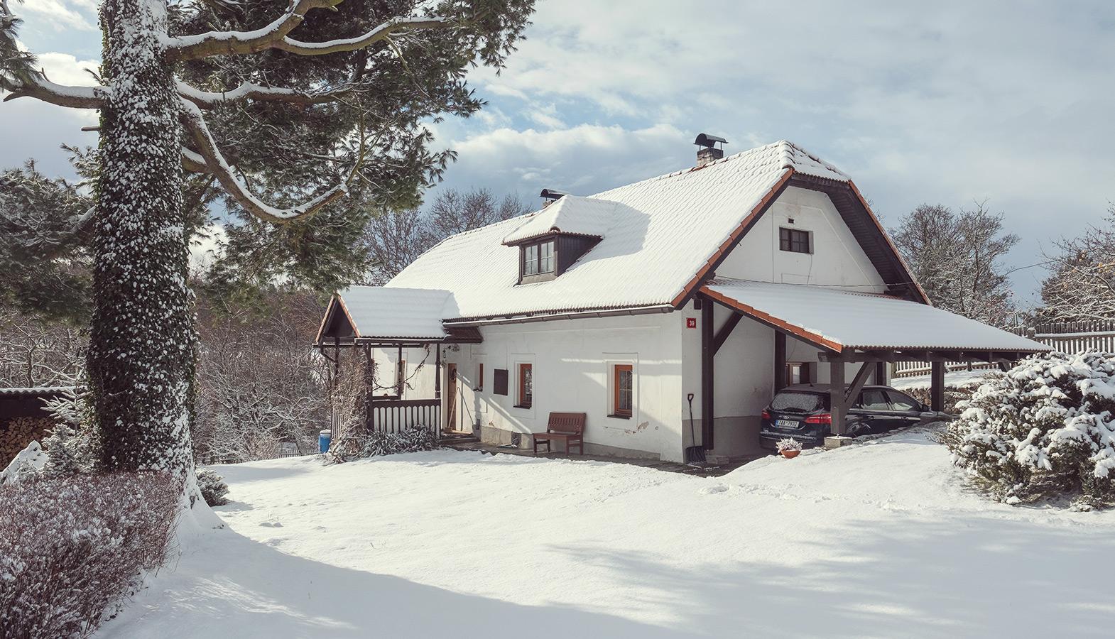rodinný dům na vesnici