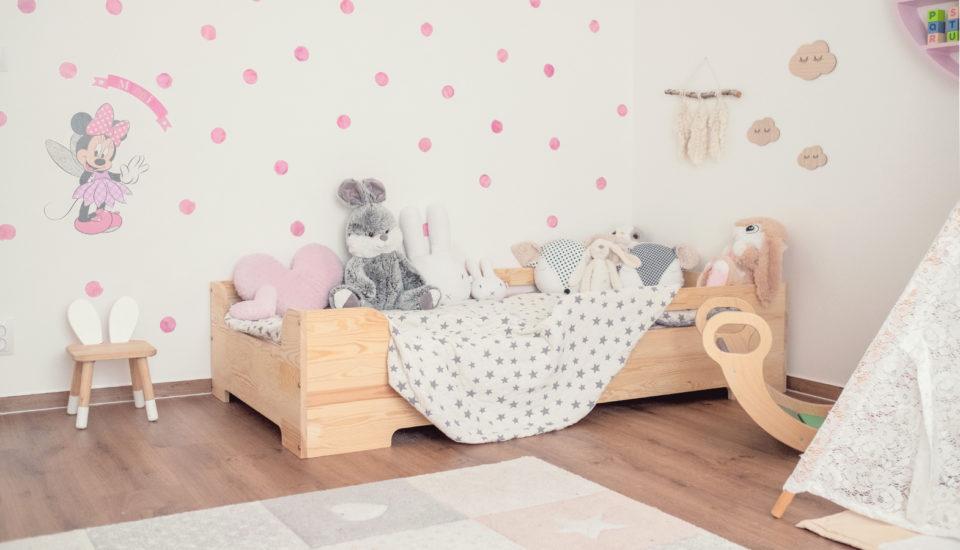 Vyladili jsme dětský pokoj do jednoho stylu tak, aby zůstal funkční