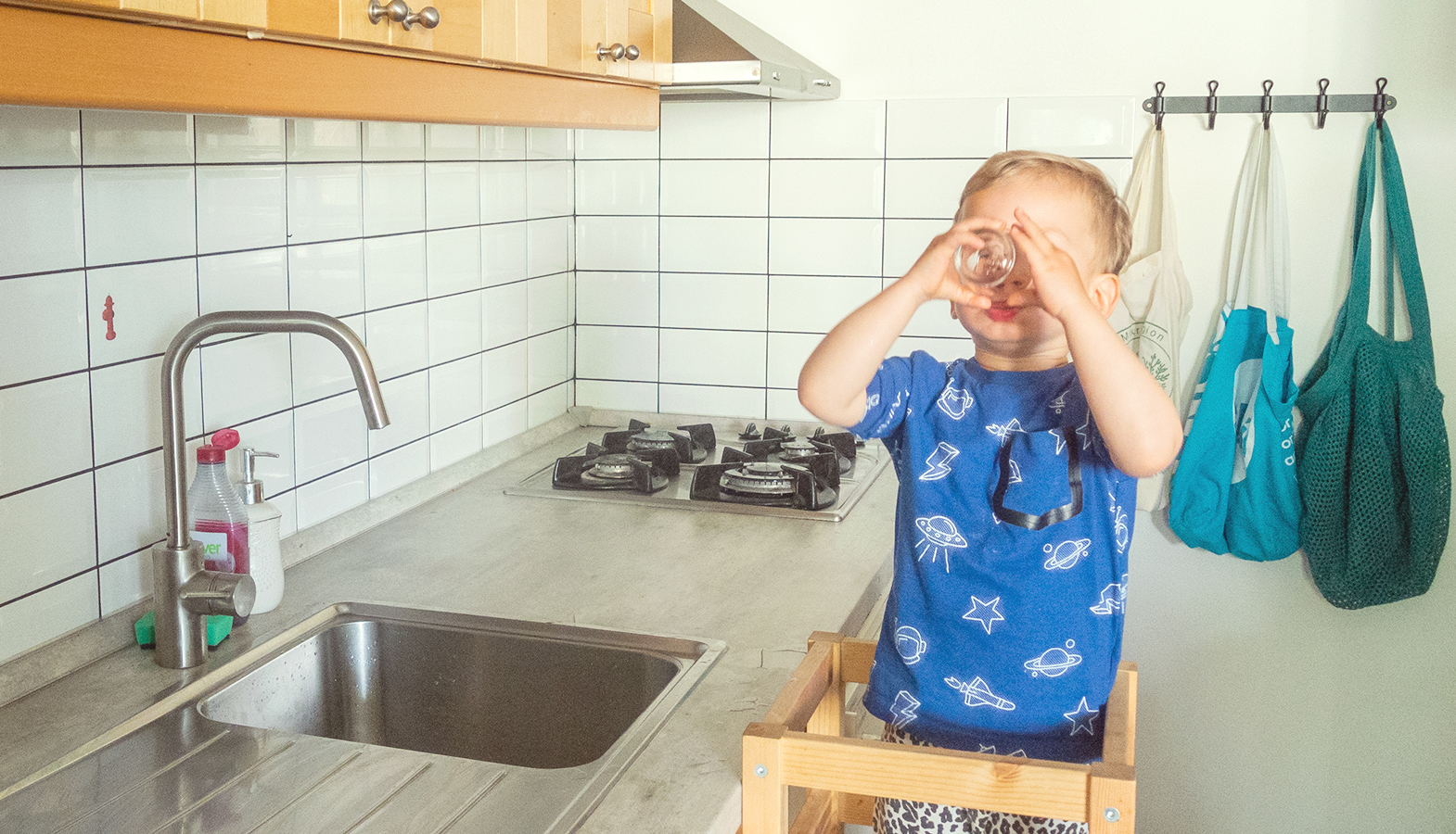 Montessori aktivity – učící věž