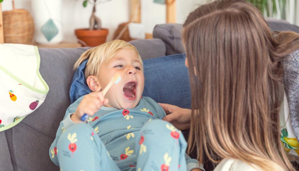 Pohádka kčištění zoubků atipy od zubní hygienistky pro rodiče aděti