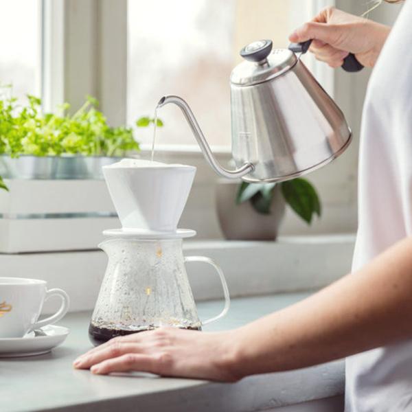 Připravte si filtrovanou kávu