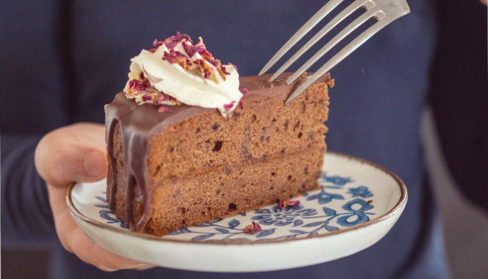 Recept na kávový dort inspirovaný vídeňským sachrem