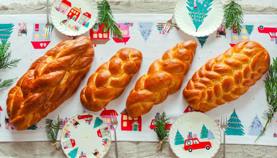 Čtyři způsoby, jak zaplést vánočku. Pro začátečníky izkušené pekaře!