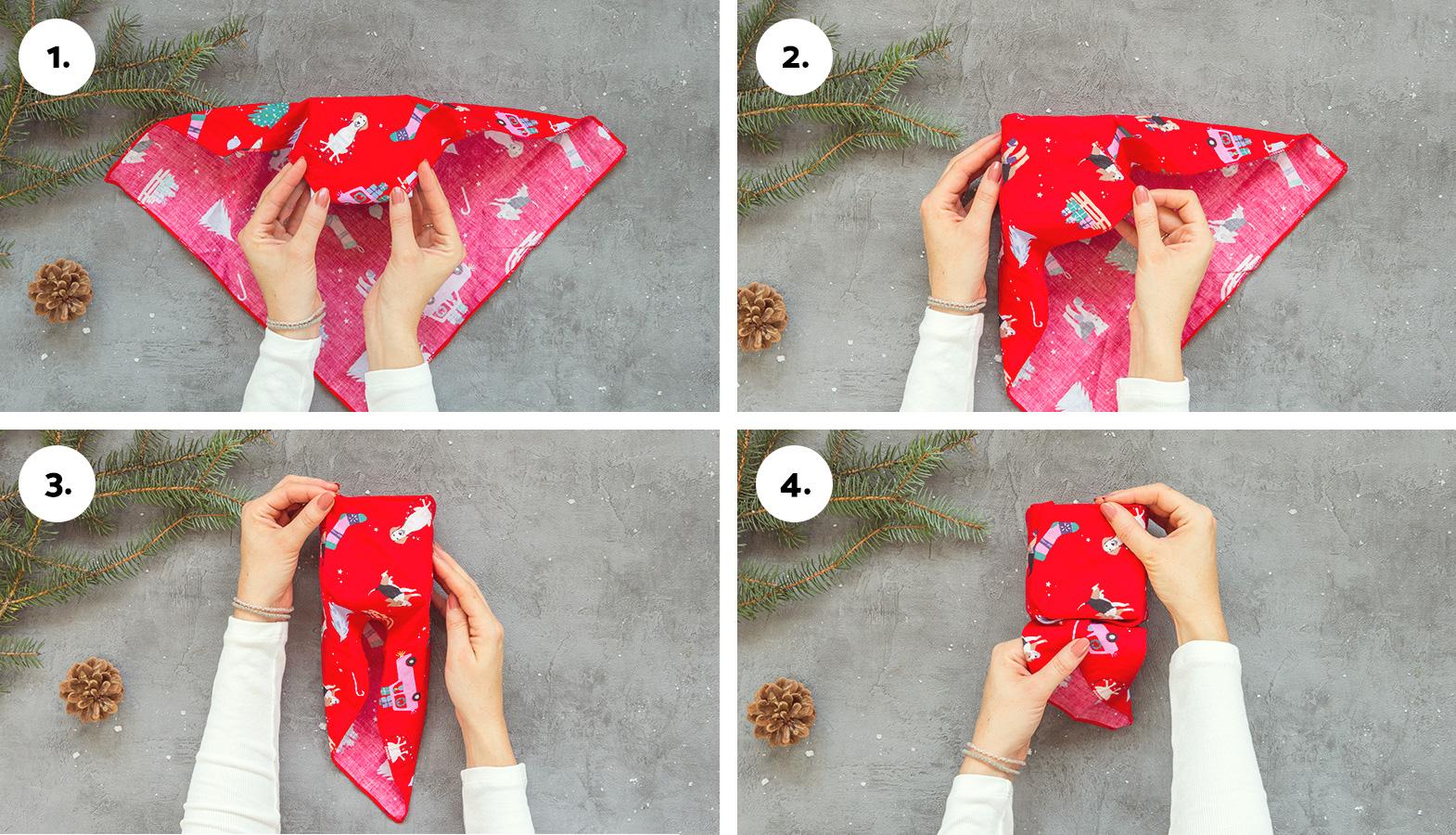 balení dárků furoshiki