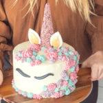 Snadný návod arecept na jednorožčí dort (nejen) pro malé princezny