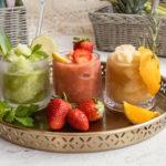 Domácí ledová tříšť: rebarborová, ananasovo-okurková ispříchutí kávy. Jak na to?